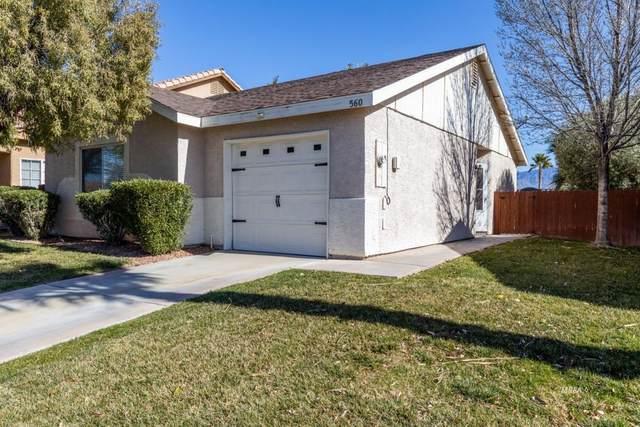 560 Sagebrush St, Mesquite, NV 89027 (MLS #1121000) :: RE/MAX Ridge Realty