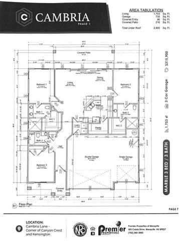 1287 Manassas Cv, Mesquite, NV 89027 (MLS #1121579) :: RE/MAX Ridge Realty
