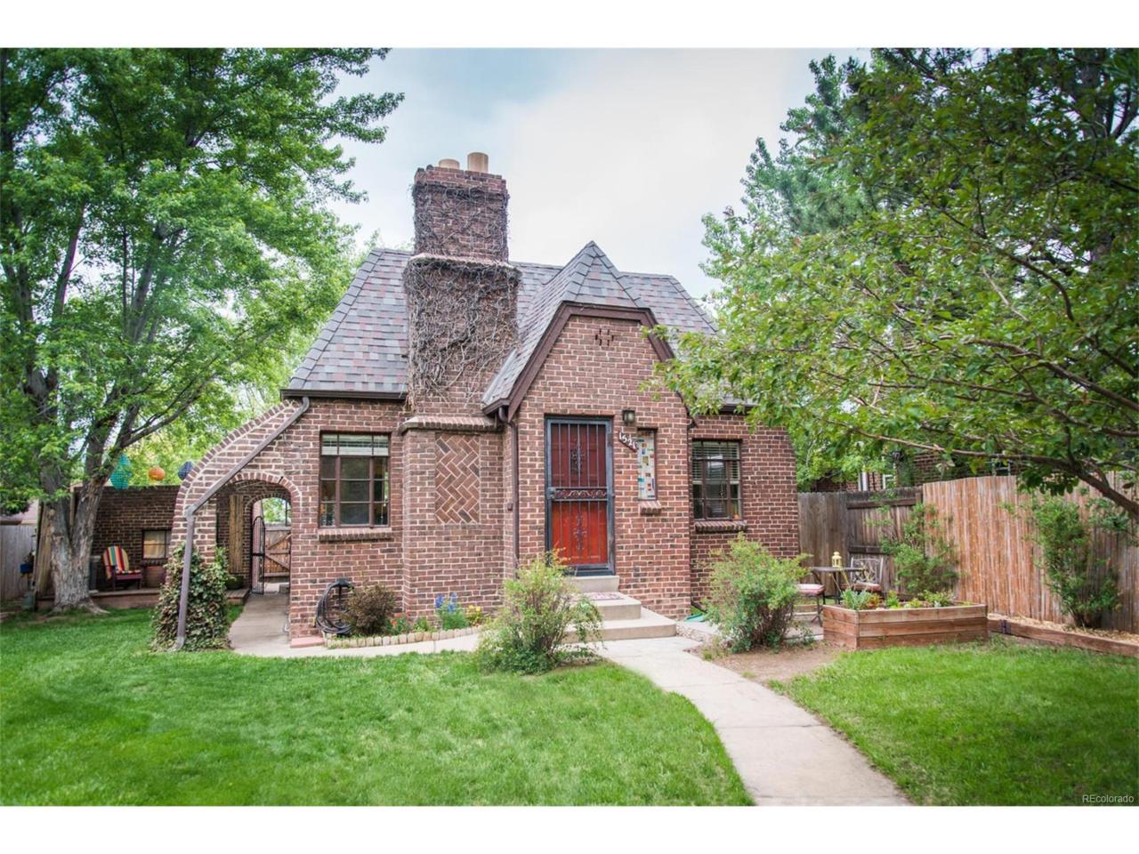 1521 S University Boulevard, Denver, CO 80210 (MLS #1501653) :: 8z Real Estate