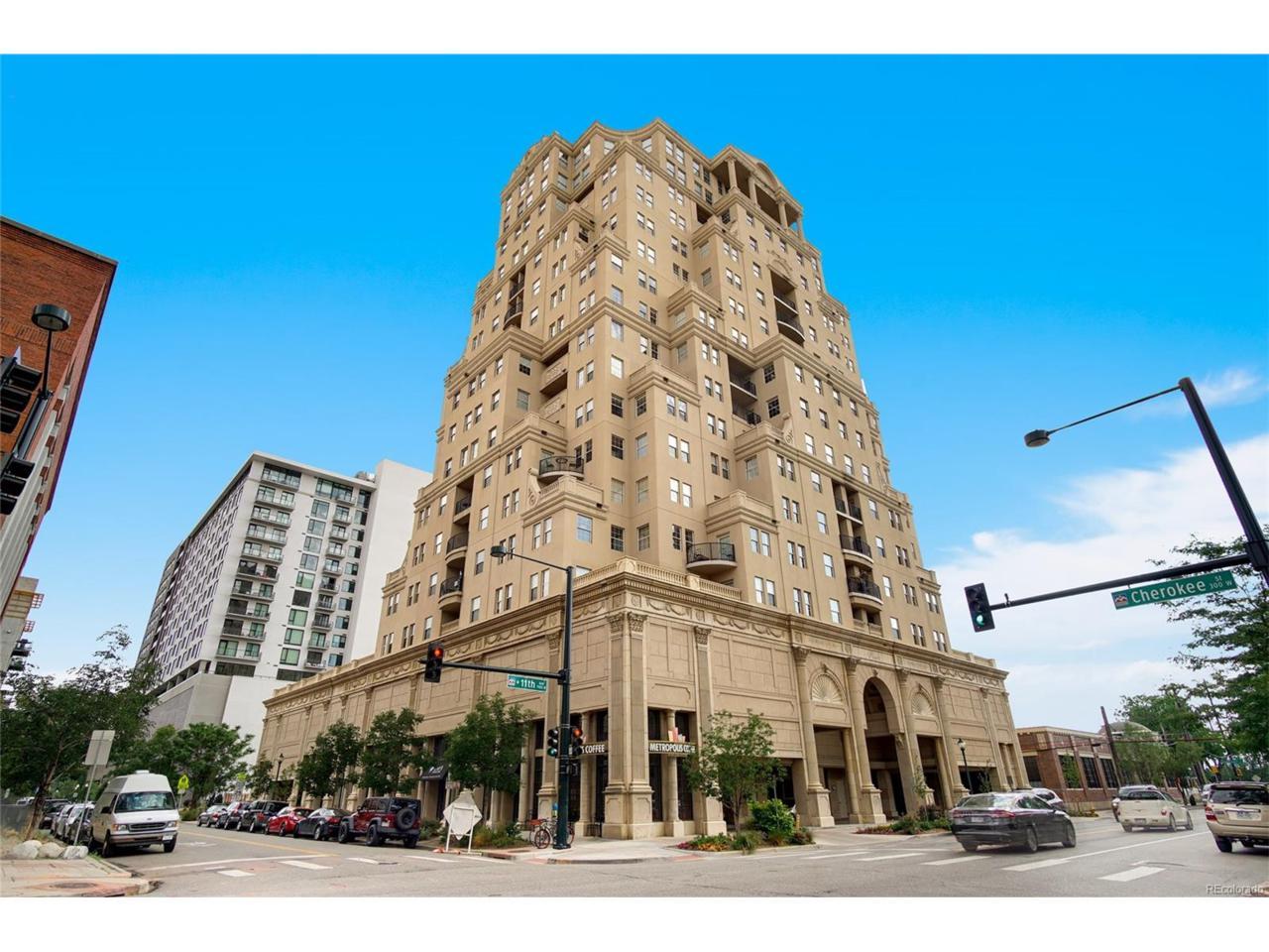 300 W 11th Avenue 7E, Denver, CO 80204 (MLS #1510385) :: 8z Real Estate