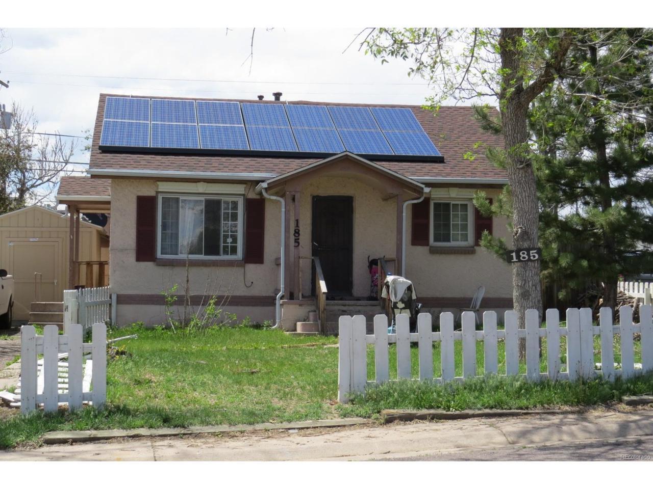 185 S Eliot Street, Denver, CO 80219 (MLS #1556855) :: 8z Real Estate