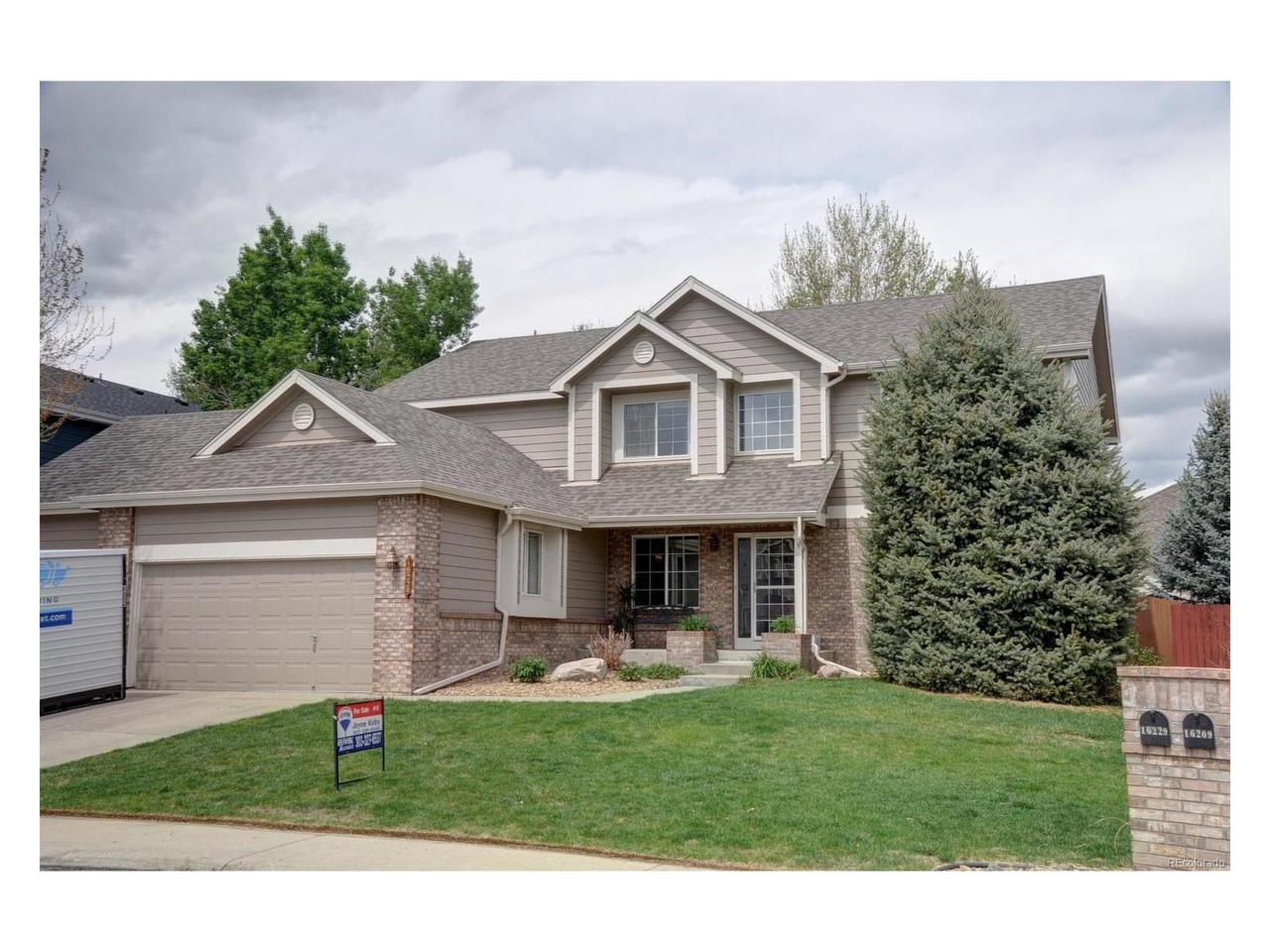 16229 W 65th Place, Arvada, CO 80007 (#1675745) :: Thrive Real Estate Group