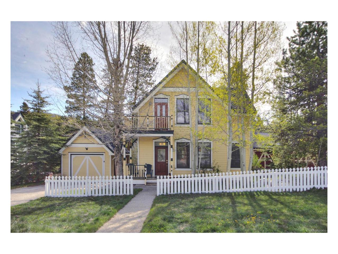 312 N French Street, Breckenridge, CO 80424 (MLS #1692085) :: 8z Real Estate