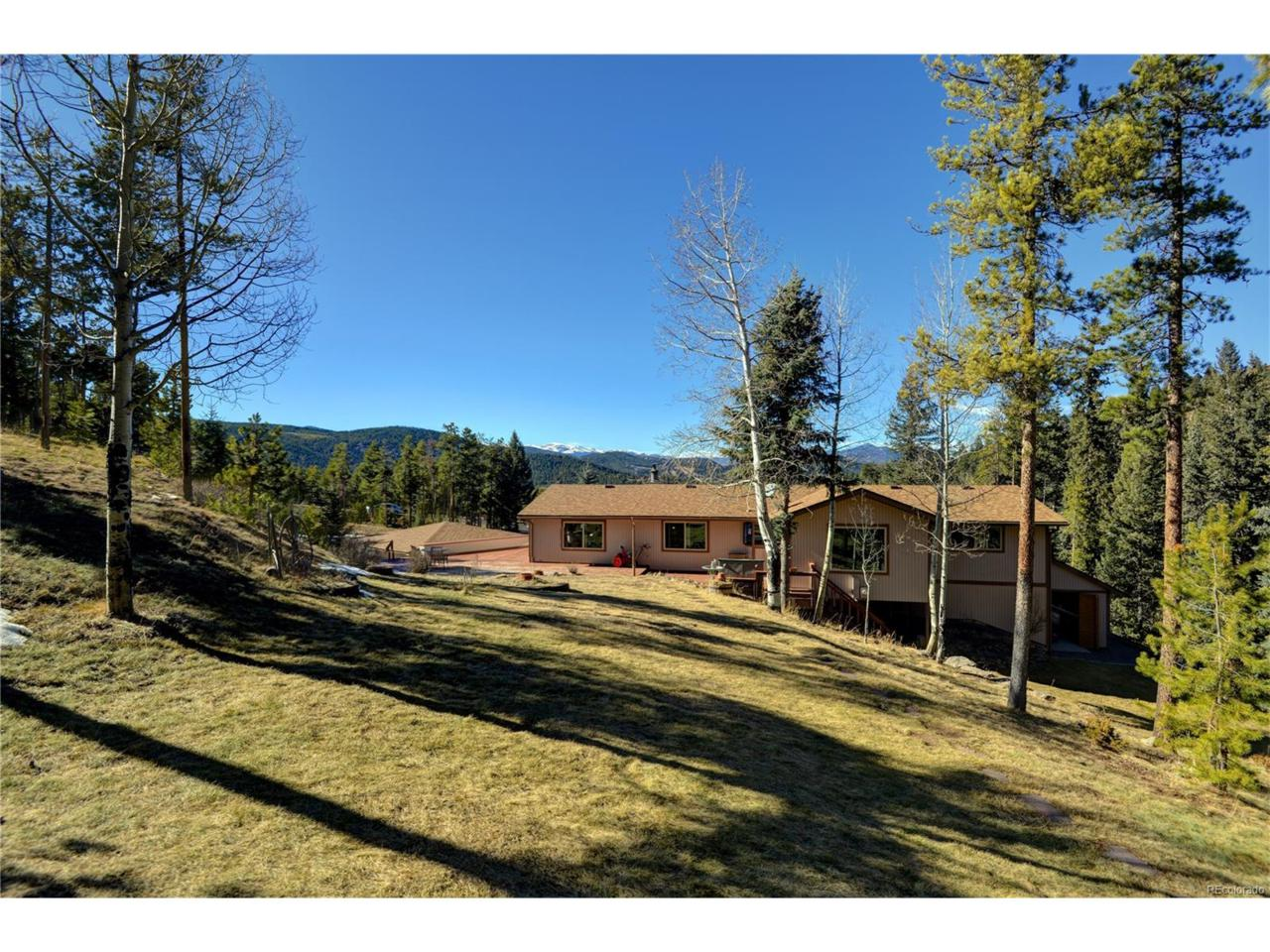 7649 S Frog Hollow Lane, Evergreen, CO 80439 (#1957022) :: Thrive Real Estate Group