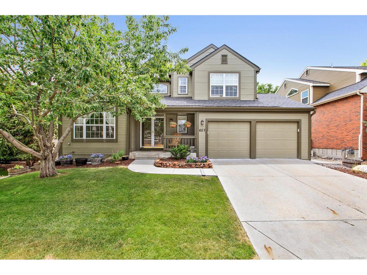 627 Huntington Drive, Highlands Ranch, CO 80126 (MLS #2007550) :: 8z Real Estate