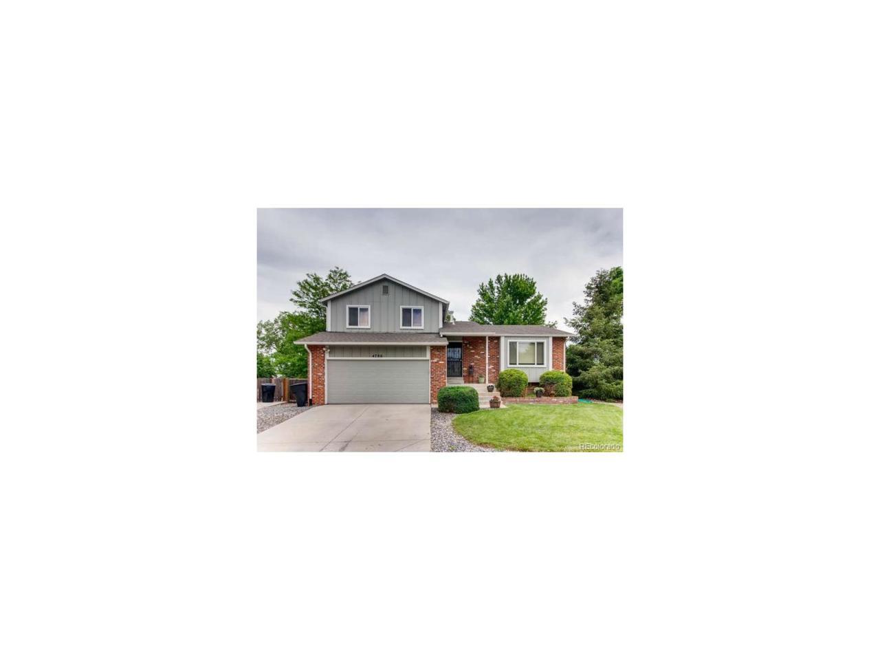 4786 S Gar Way, Littleton, CO 80123 (MLS #2055160) :: 8z Real Estate