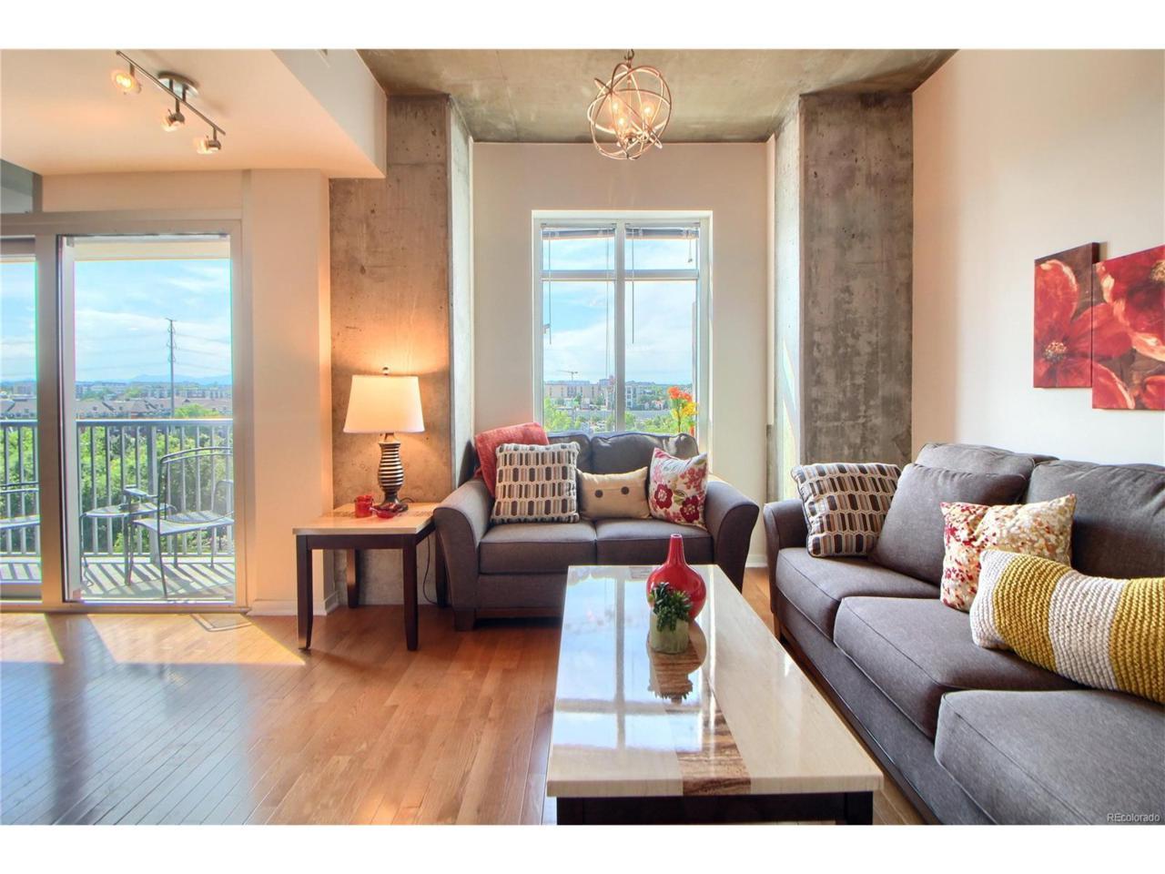 1700 Bassett Street #609, Denver, CO 80202 (MLS #2079324) :: 8z Real Estate