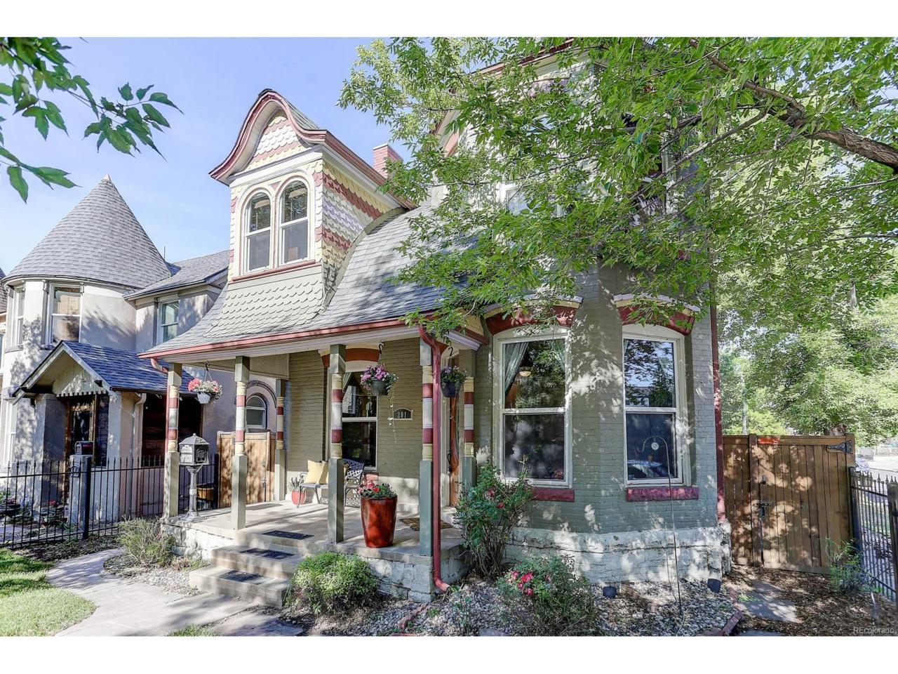 201 S Lincoln Street, Denver, CO 80209 (MLS #2083167) :: 8z Real Estate
