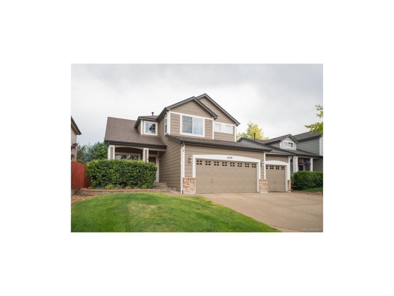 1439 Chukar Drive, Longmont, CO 80504 (MLS #2087723) :: 8z Real Estate