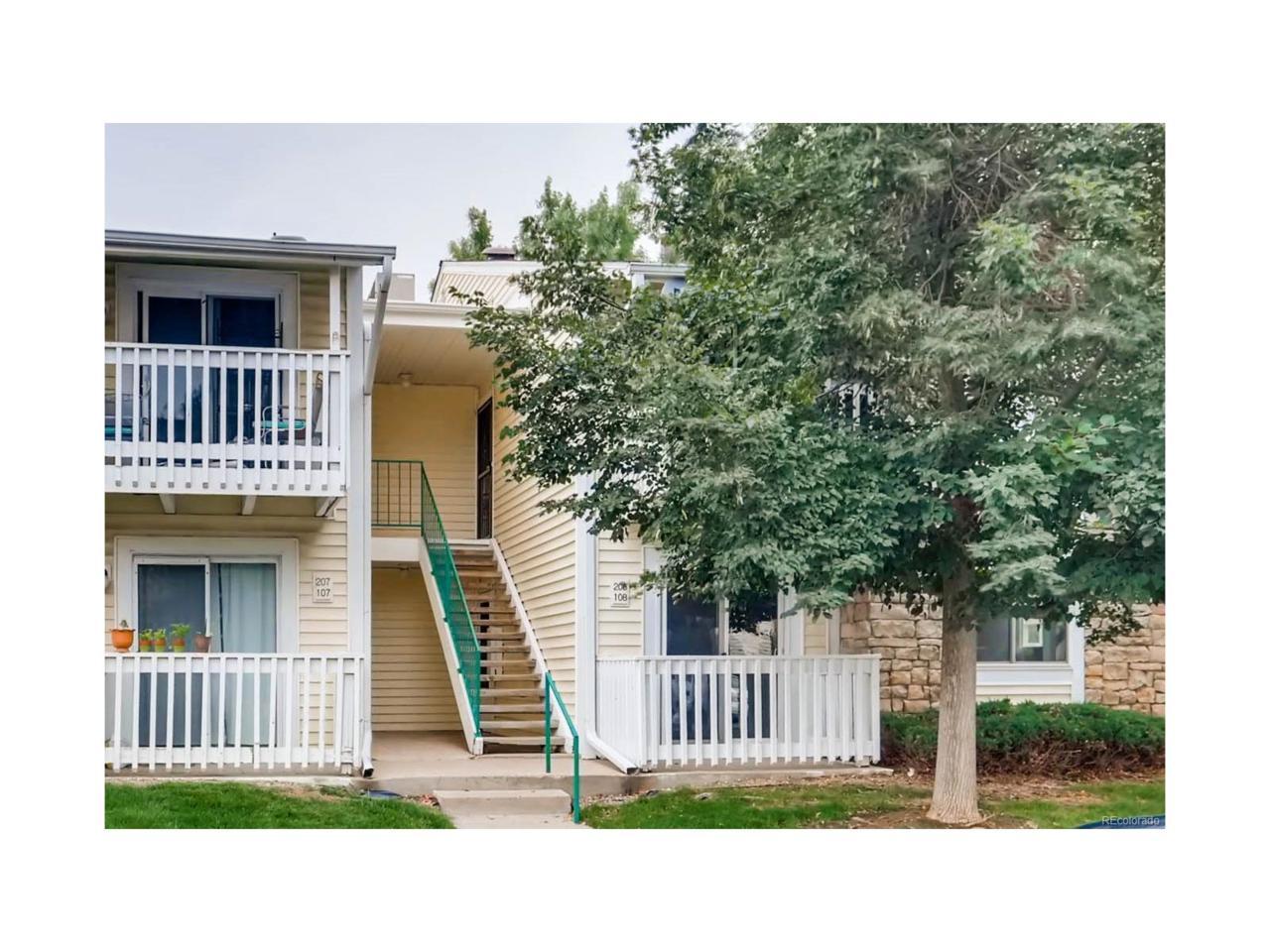 8555 Fairmount Drive A108, Denver, CO 80247 (MLS #2093613) :: 8z Real Estate