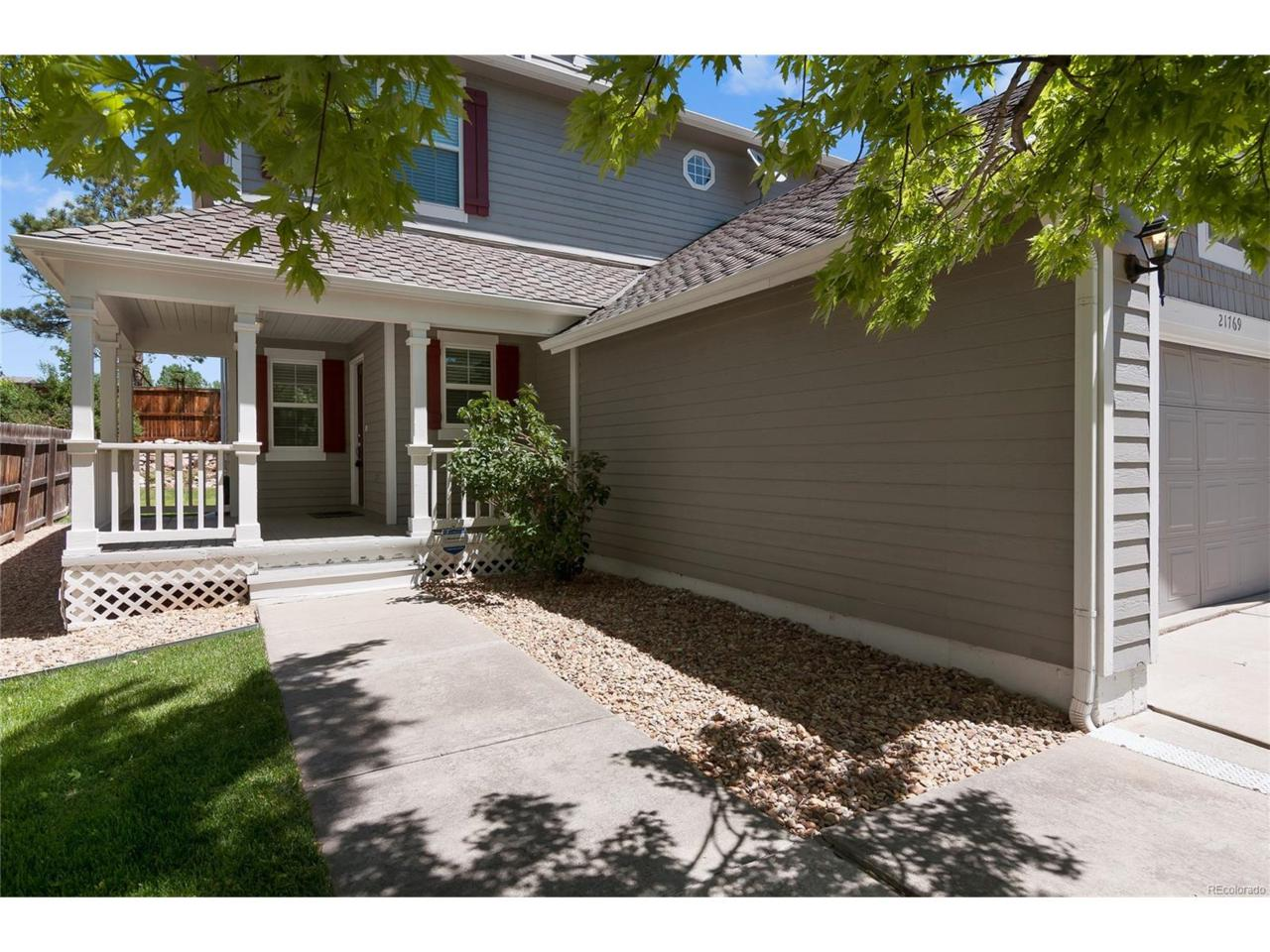 21769 Saddlebrook Drive, Parker, CO 80138 (MLS #2170775) :: 8z Real Estate