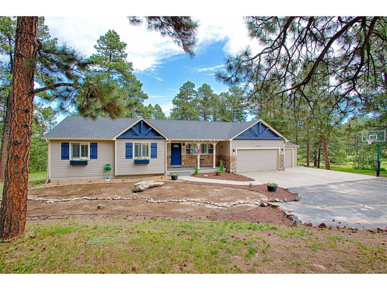 35813 Elkridge Run, Elizabeth, CO 80107 (MLS #2446225) :: 8z Real Estate