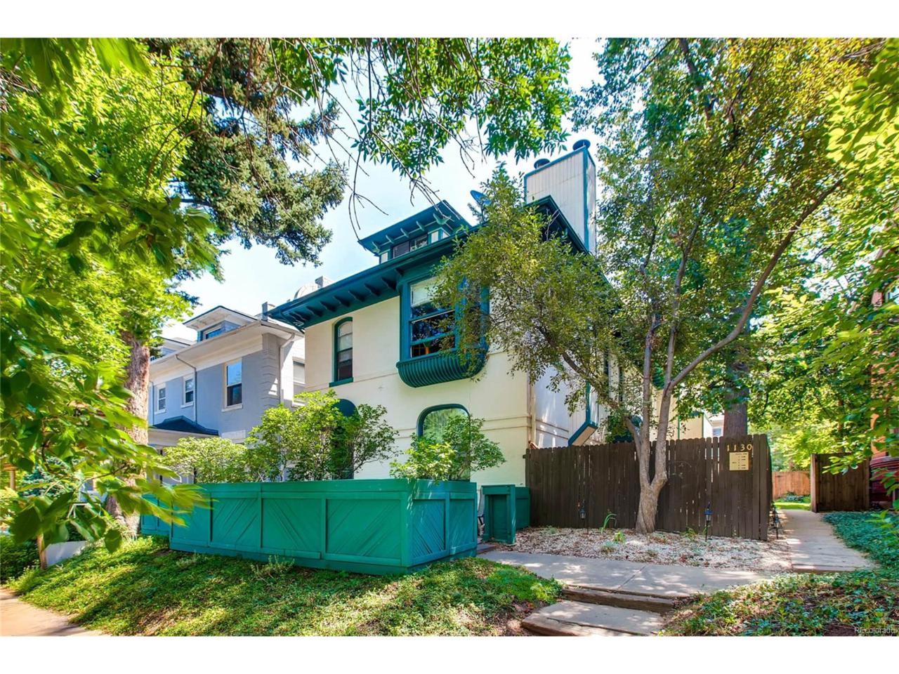 1130 N Lafayette Street #2, Denver, CO 80218 (MLS #2574638) :: 8z Real Estate