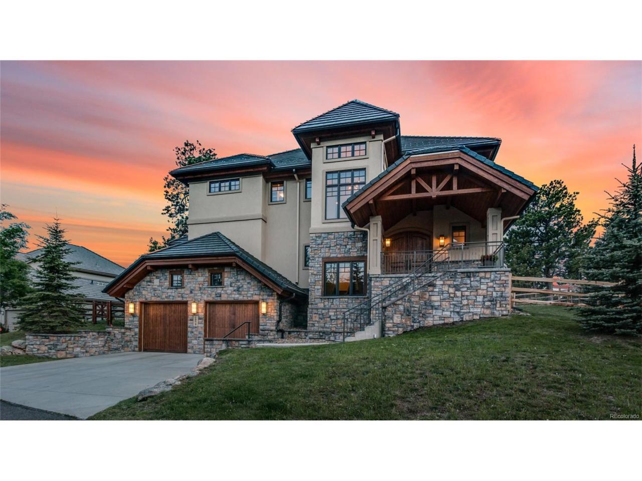 1979 Interlocken Drive, Evergreen, CO 80439 (MLS #2616869) :: 8z Real Estate