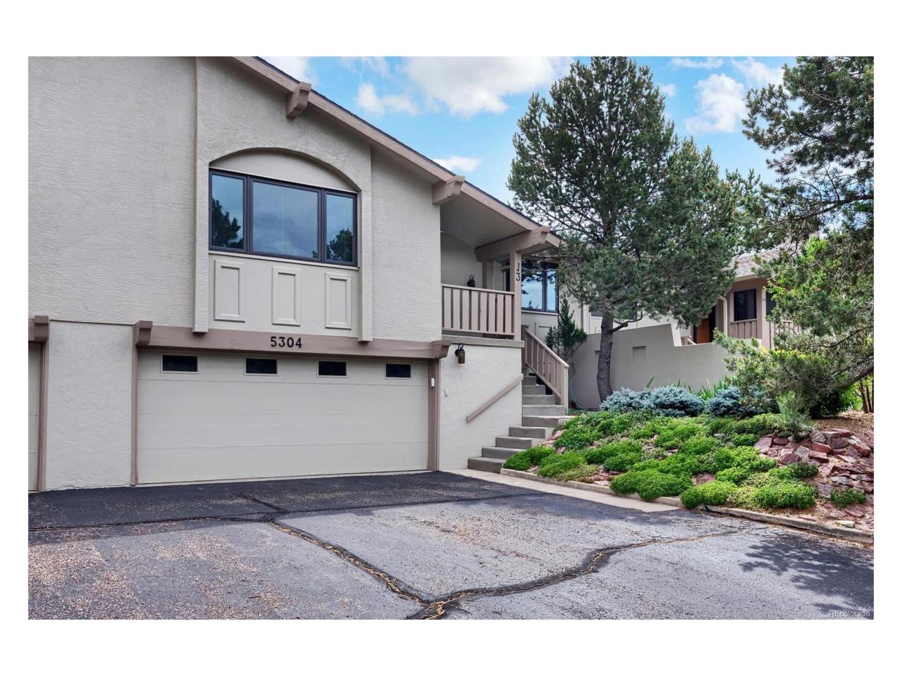 5304 Kissing Camels Drive #3, Colorado Springs, CO 80904 (MLS #2654550) :: 8z Real Estate