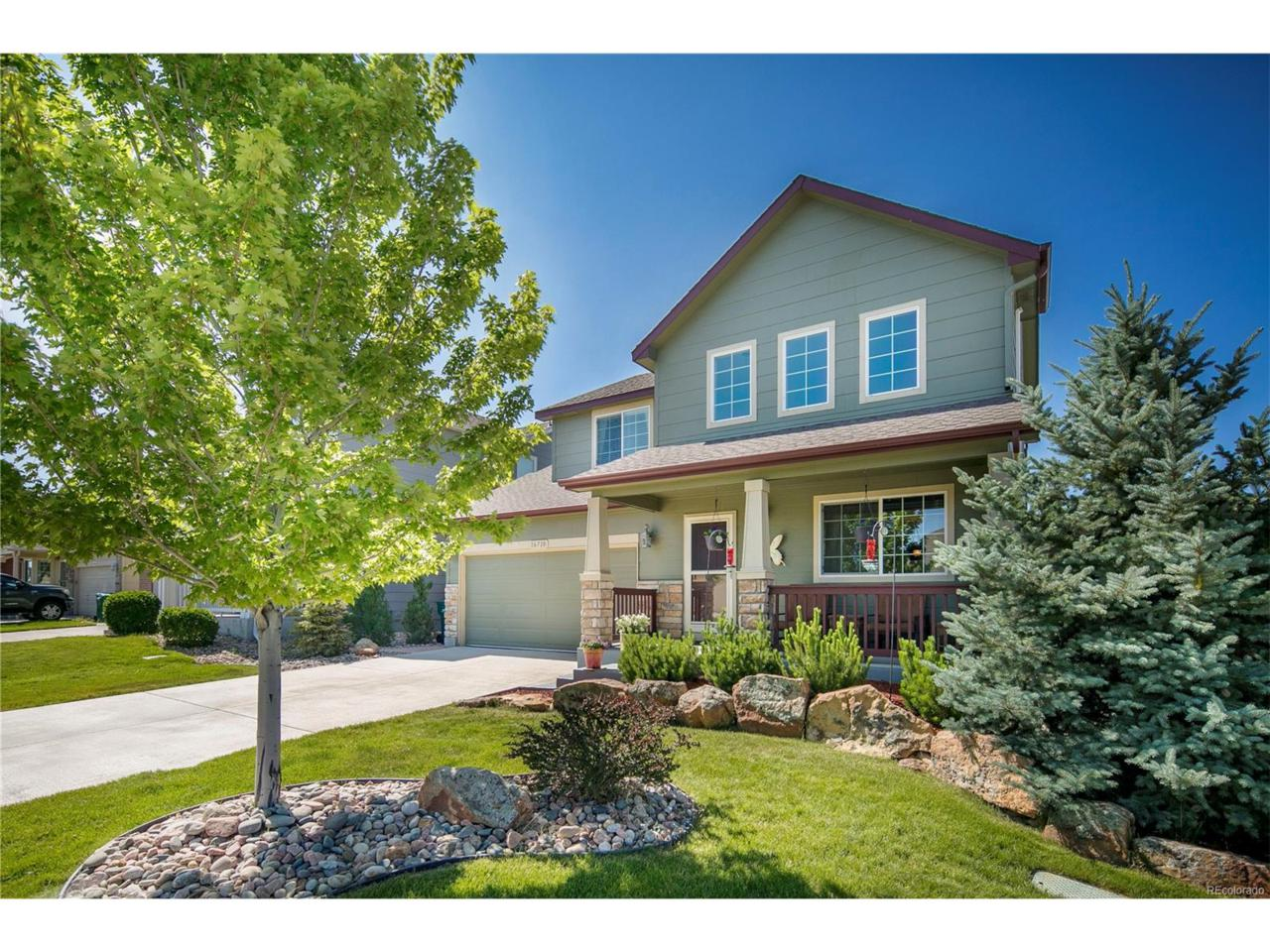 16710 E Fire Fly Avenue, Parker, CO 80134 (MLS #2673531) :: 8z Real Estate