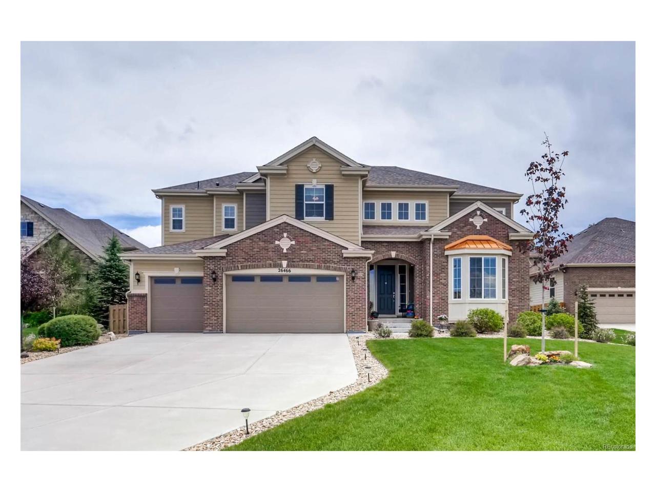 26466 E Peakview Drive, Aurora, CO 80016 (MLS #2694828) :: 8z Real Estate
