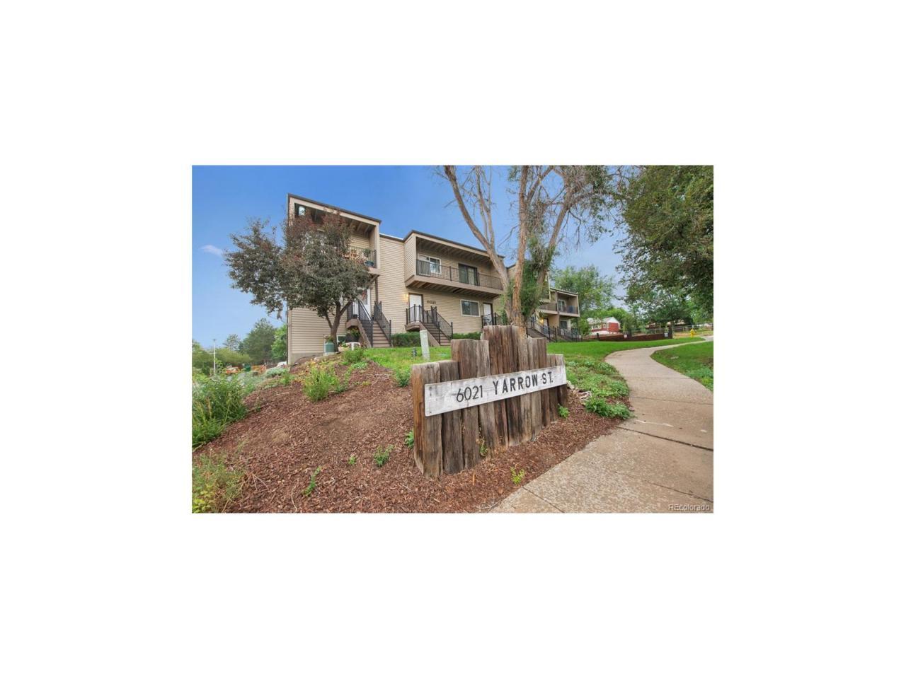 6021 Yarrow Street B16, Arvada, CO 80004 (MLS #2730331) :: 8z Real Estate