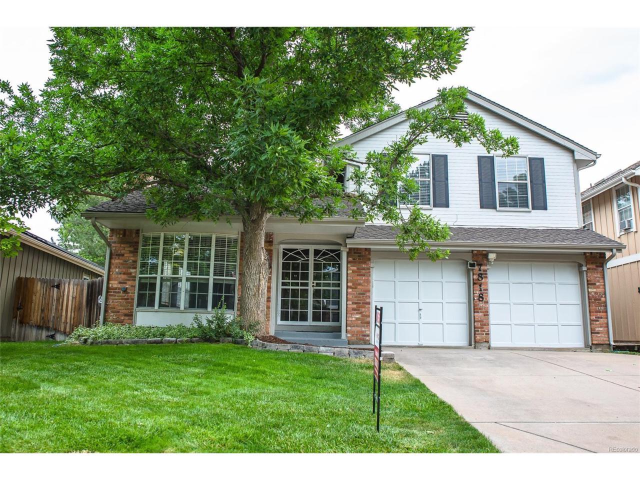 7818 S Hill Circle, Littleton, CO 80120 (MLS #2759108) :: 8z Real Estate
