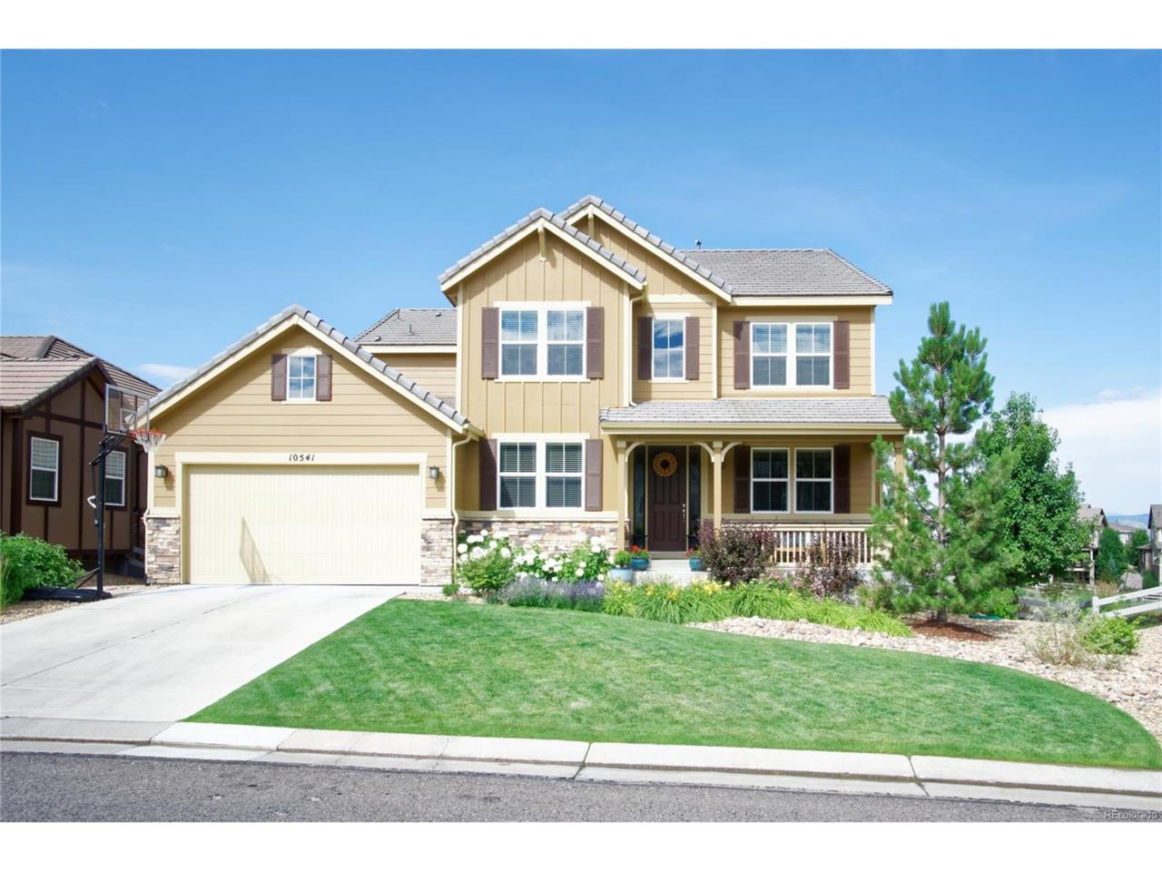 10541 Skyreach Road, Highlands Ranch, CO 80126 (MLS #2932351) :: 8z Real Estate