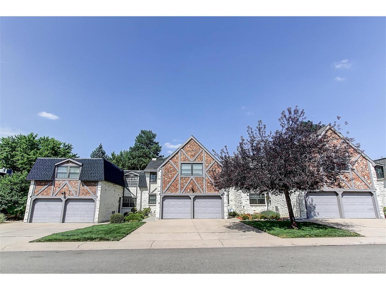 5821 E Ithaca Place, Denver, CO 80237 (#2943170) :: Thrive Real Estate Group