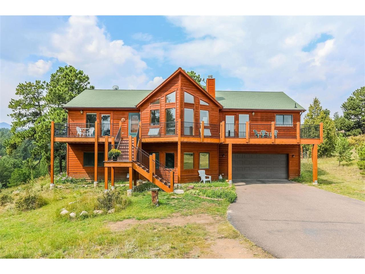 821 Yellow Pine Drive, Bailey, CO 80421 (MLS #2978658) :: 8z Real Estate