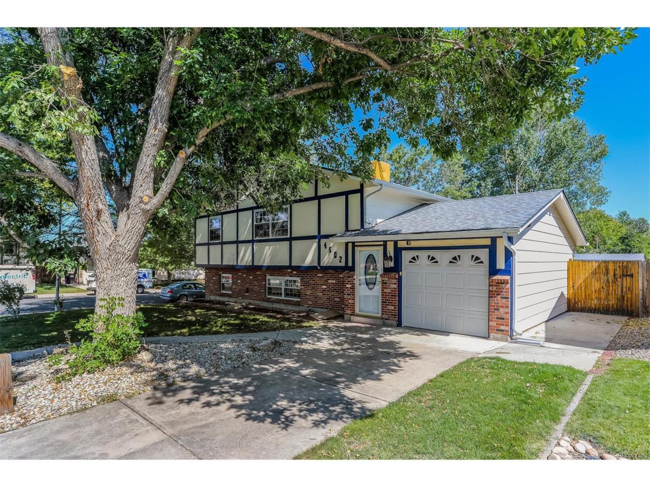 4502 S Hoyt Street, Littleton, CO 80123 (MLS #3004616) :: 8z Real Estate