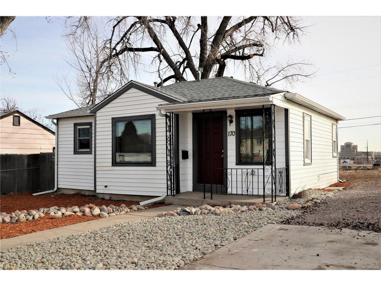 170 Clay Street, Denver, CO 80219 (MLS #3024400) :: 8z Real Estate