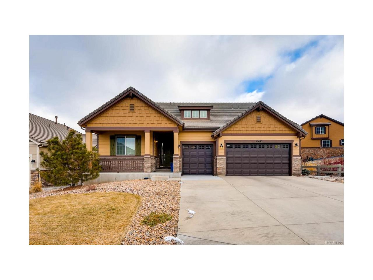 10483 Skyreach Road, Highlands Ranch, CO 80126 (MLS #3047226) :: 8z Real Estate