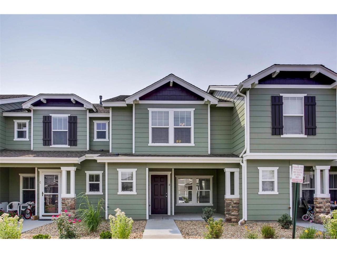 17254 Lark Water Lane D, Parker, CO 80134 (MLS #3133668) :: 8z Real Estate