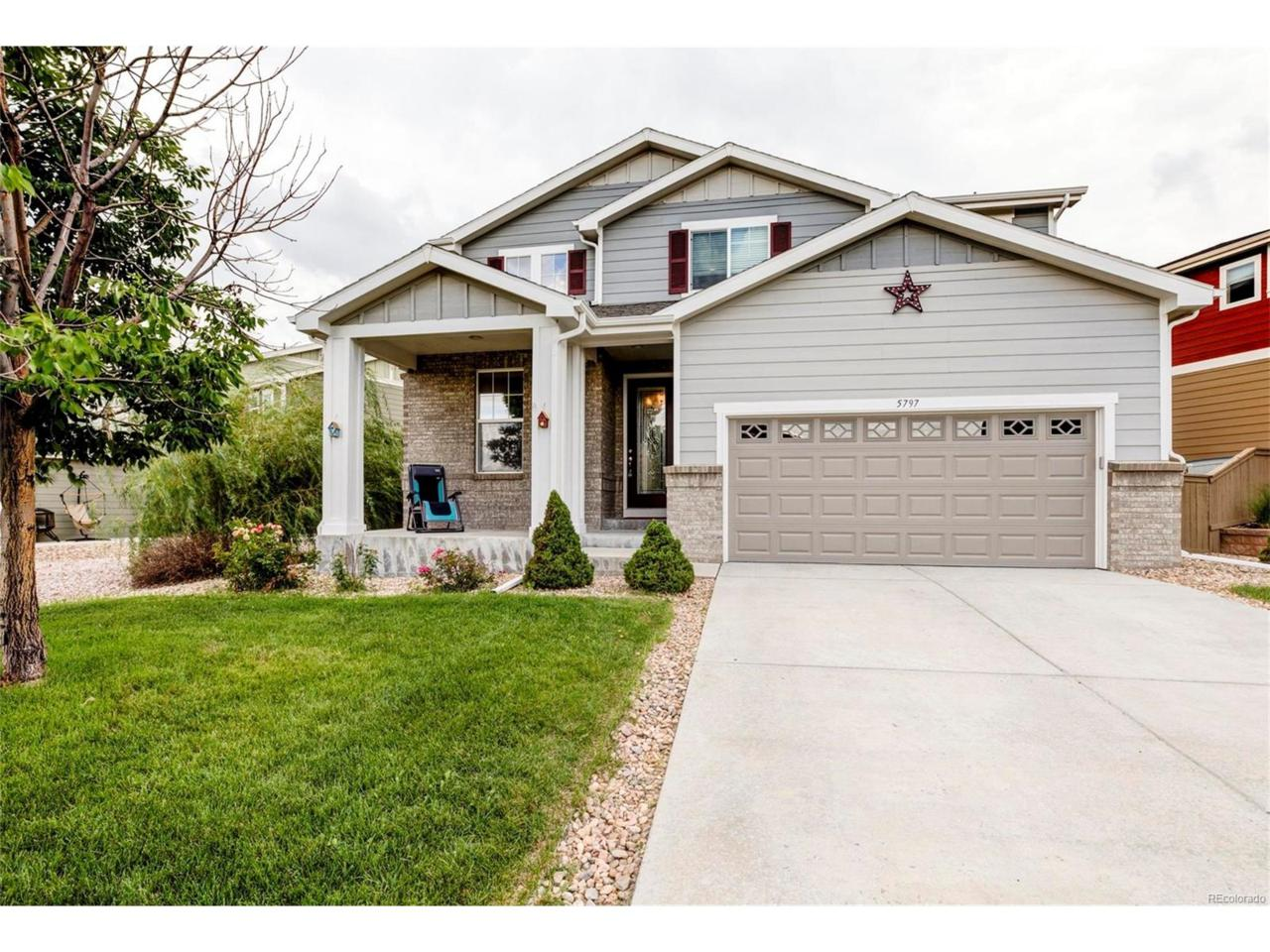 5797 Raleigh Circle, Castle Rock, CO 80104 (MLS #3165049) :: 8z Real Estate
