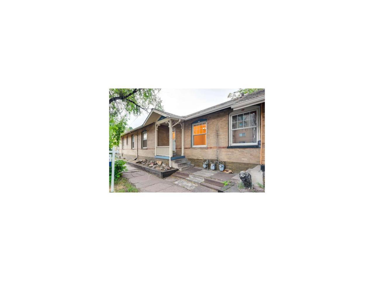 430 E 6th Avenue, Denver, CO 80203 (#3176511) :: Thrive Real Estate Group