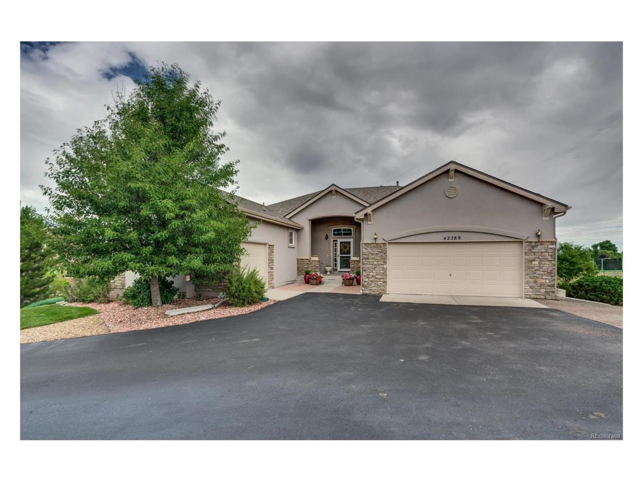 42289 Kingsmill Circle, Elizabeth, CO 80107 (MLS #3221658) :: 8z Real Estate