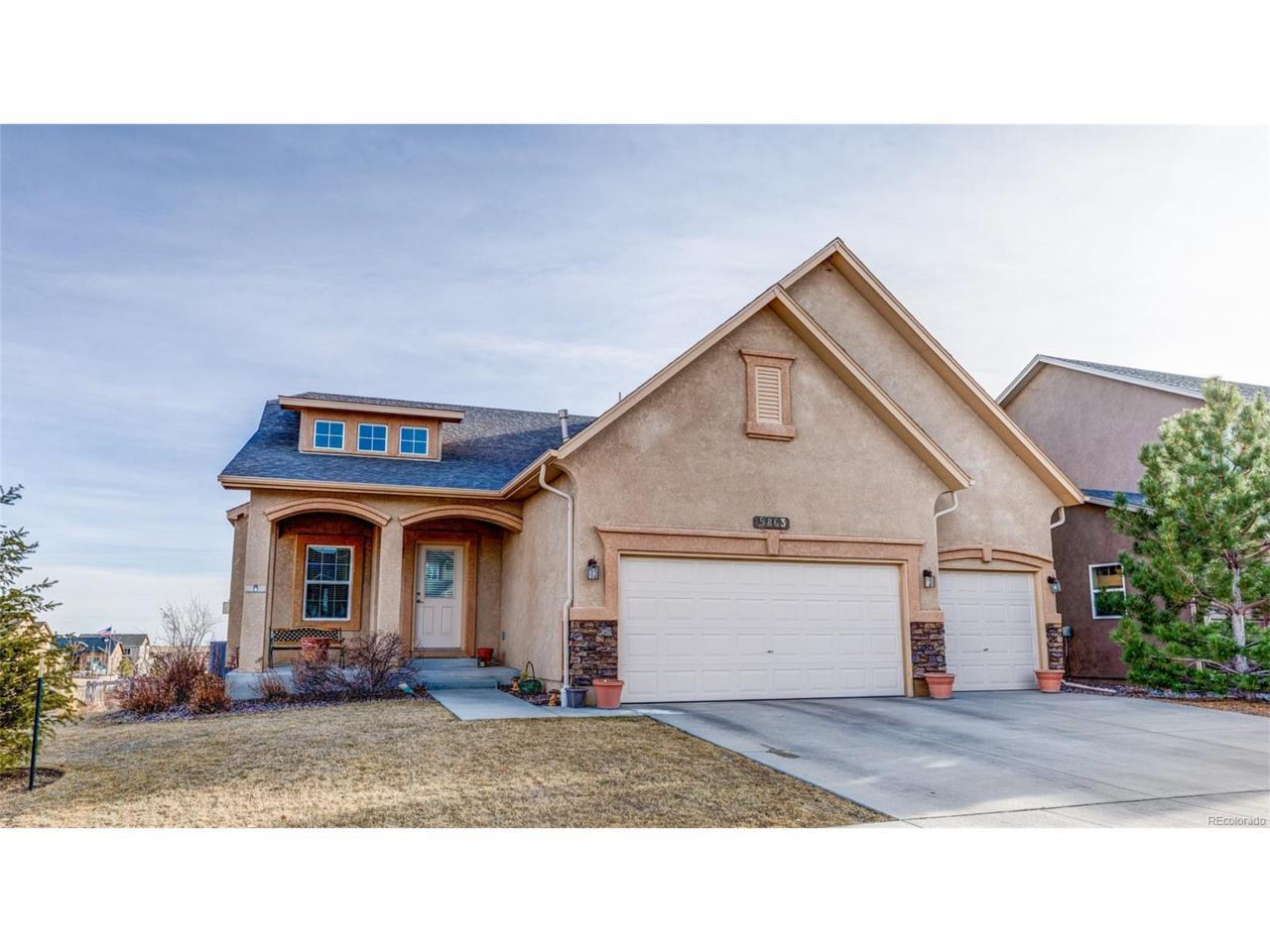 5863 Yancey Drive, Colorado Springs, CO 80924 (MLS #3310041) :: 8z Real Estate