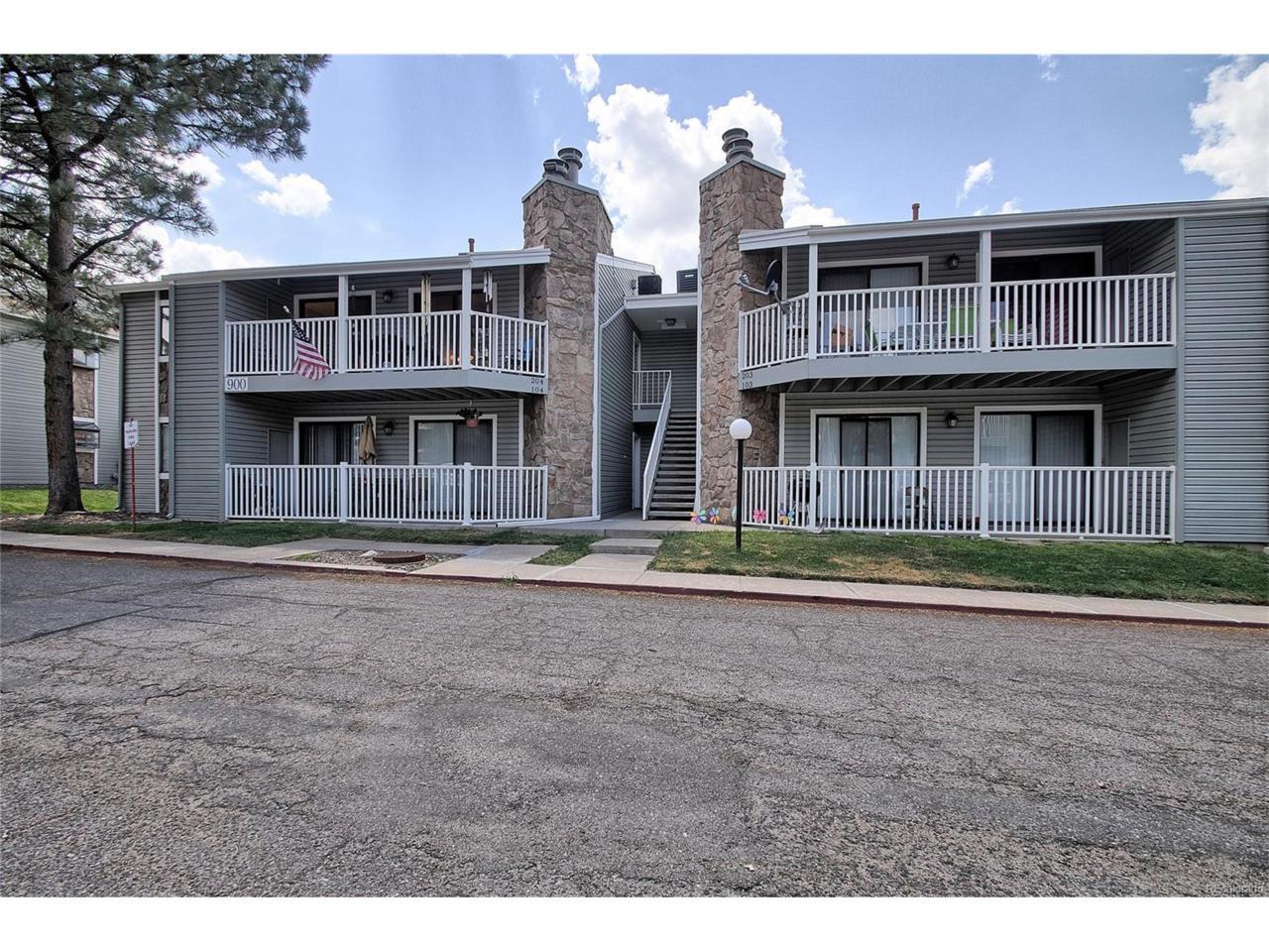 900 S Walden Way #204, Aurora, CO 80017 (MLS #3459705) :: 8z Real Estate