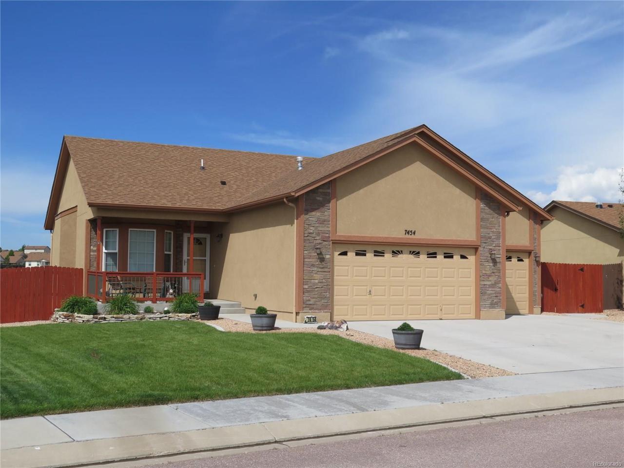 7454 Waterside Drive, Colorado Springs, CO 80925 (MLS #3479562) :: 8z Real Estate