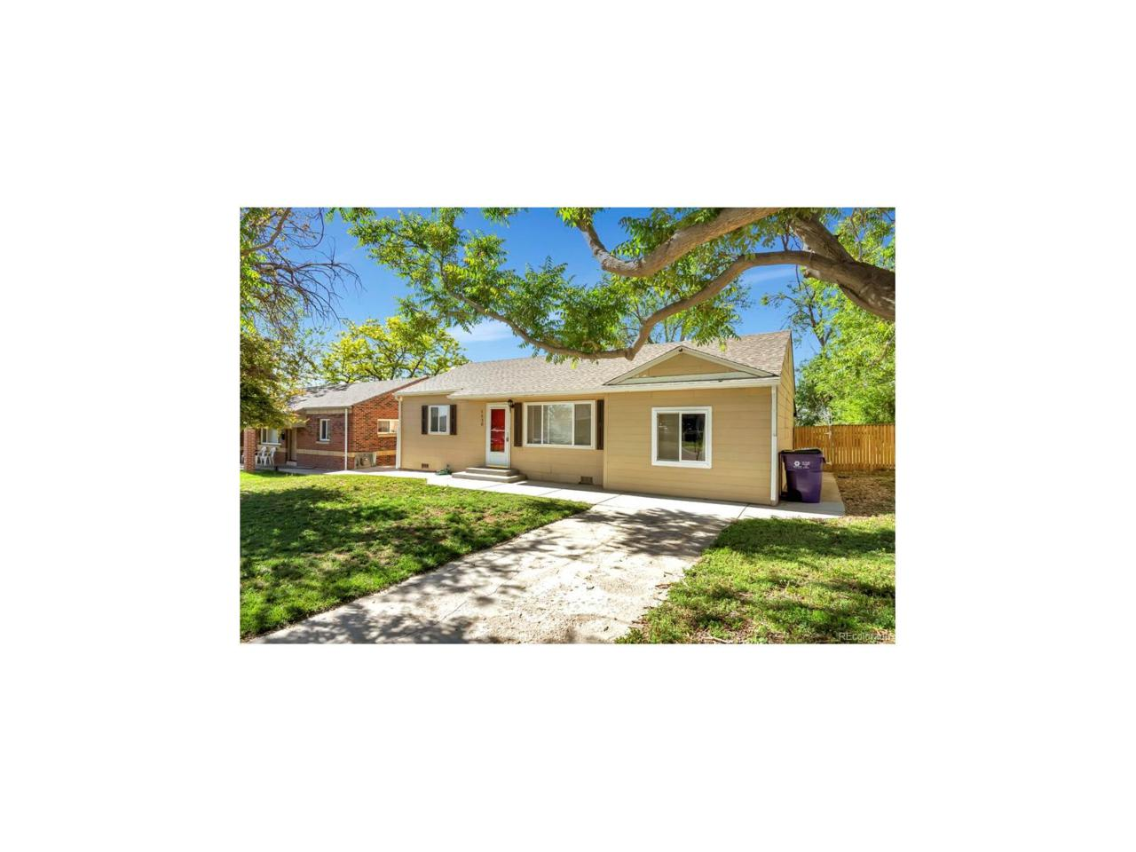 1530 W Berkeley Place, Denver, CO 80221 (MLS #3502144) :: 8z Real Estate