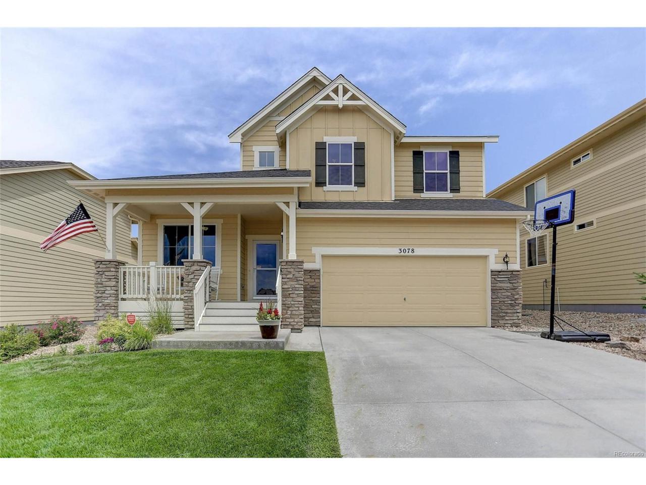 3078 Trailblazer Way, Castle Rock, CO 80109 (MLS #3528796) :: 8z Real Estate