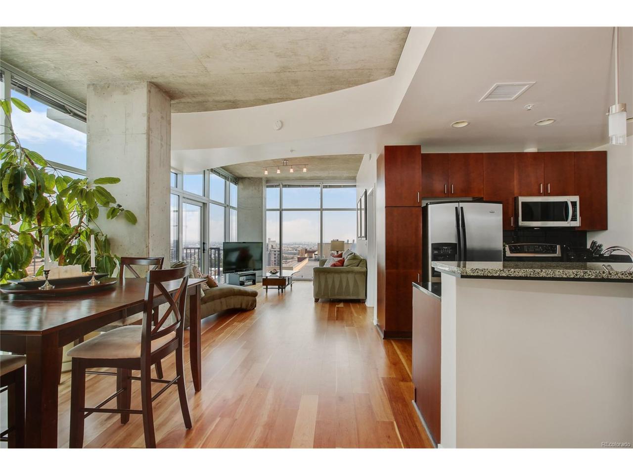 1700 Bassett Street #1413, Denver, CO 80202 (MLS #3599013) :: 8z Real Estate