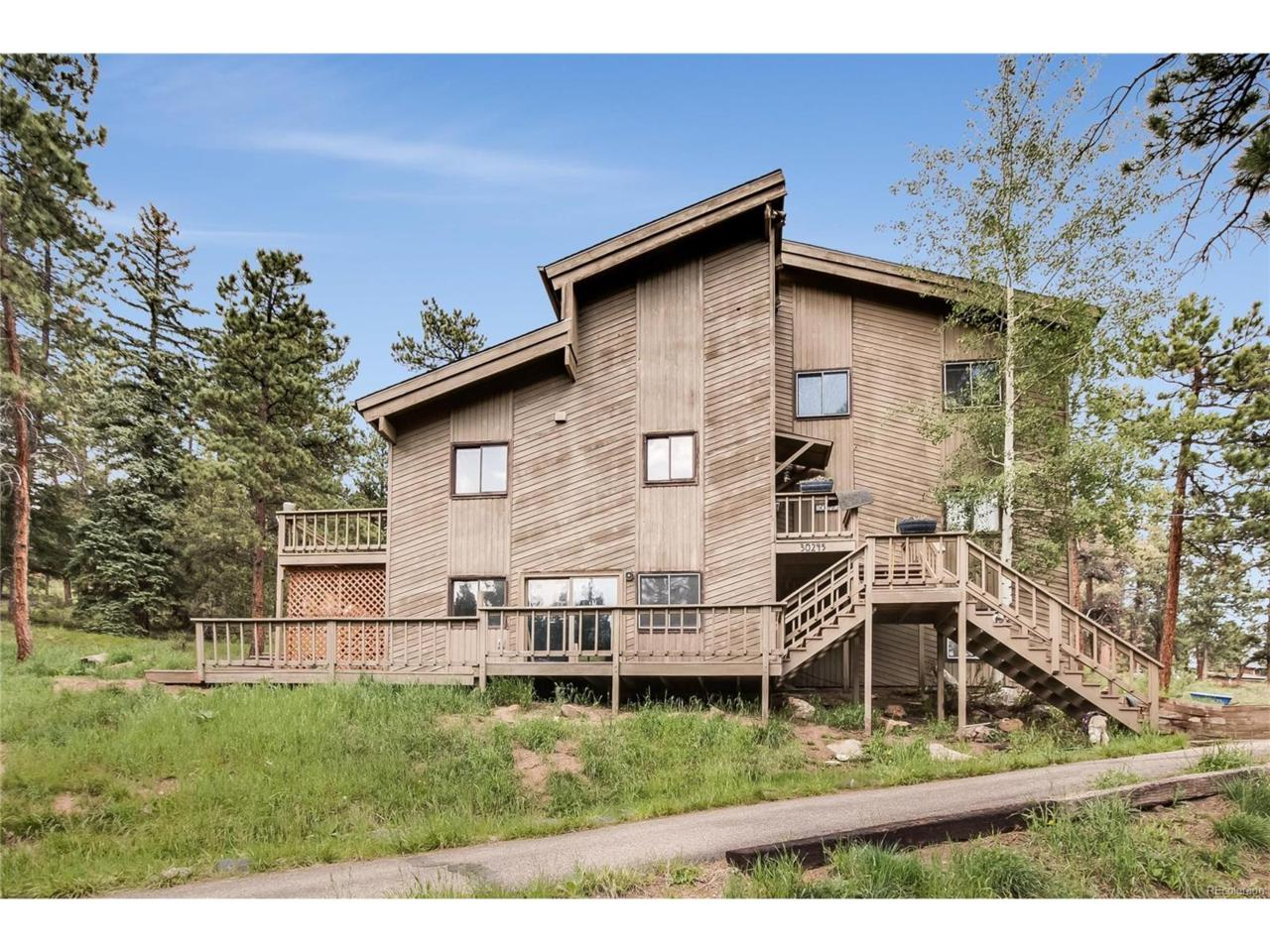 30245 Monroe Drive, Evergreen, CO 80439 (MLS #3725547) :: 8z Real Estate