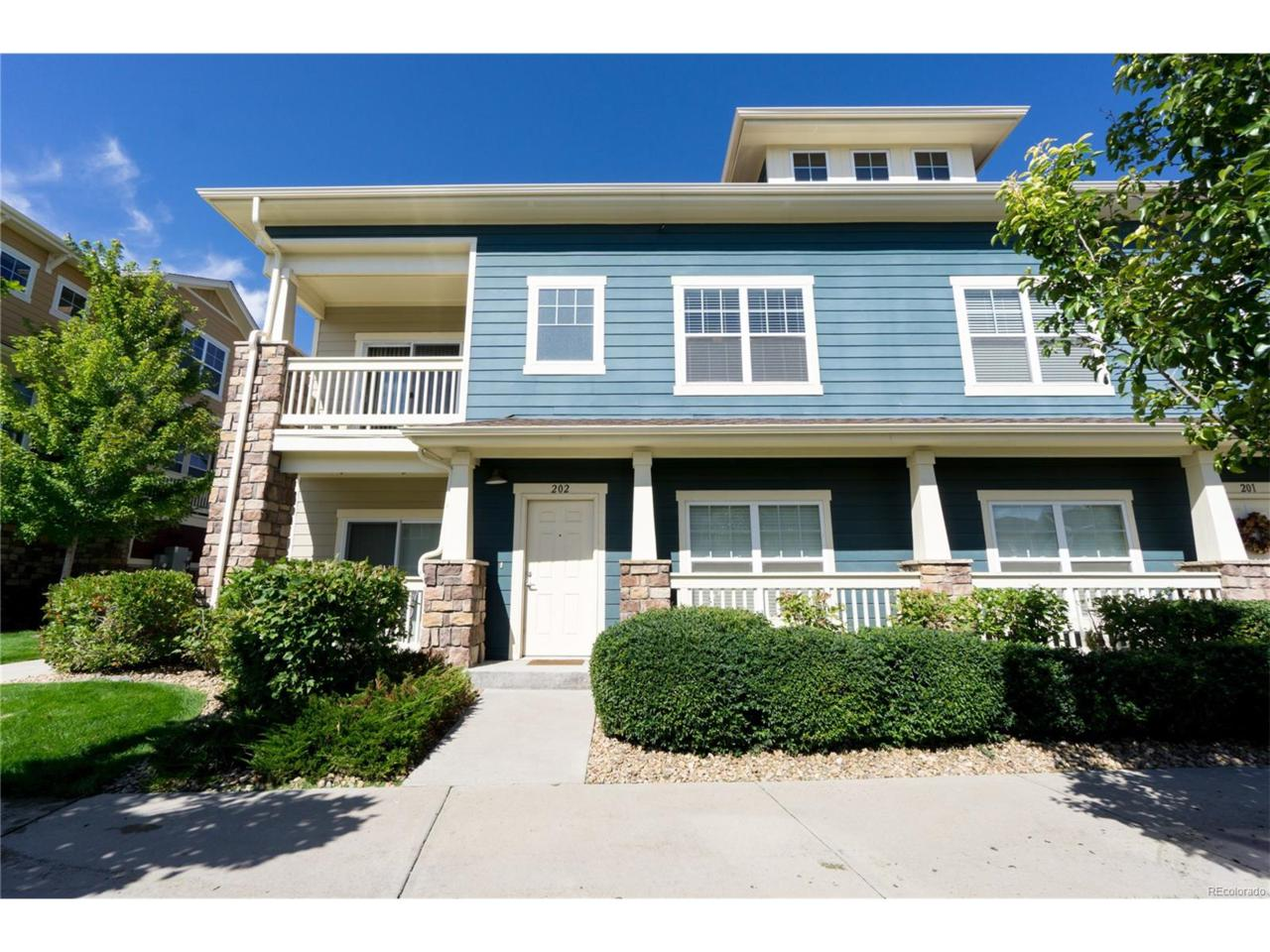 9489 Ashbury Circle #202, Parker, CO 80134 (MLS #3731676) :: 8z Real Estate