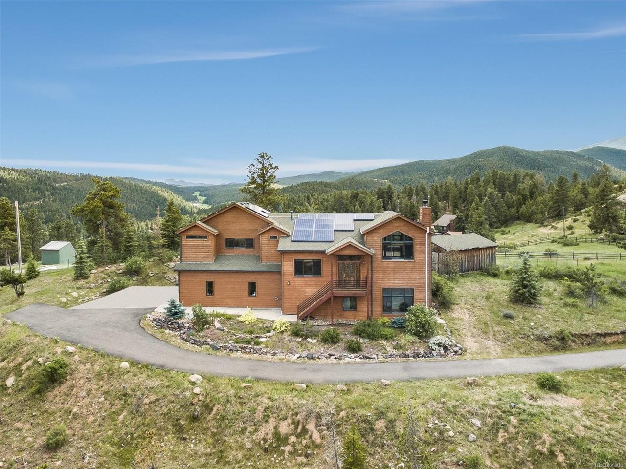 6521 Vera Lane, Evergreen, CO 80439 (MLS #3761092) :: 8z Real Estate