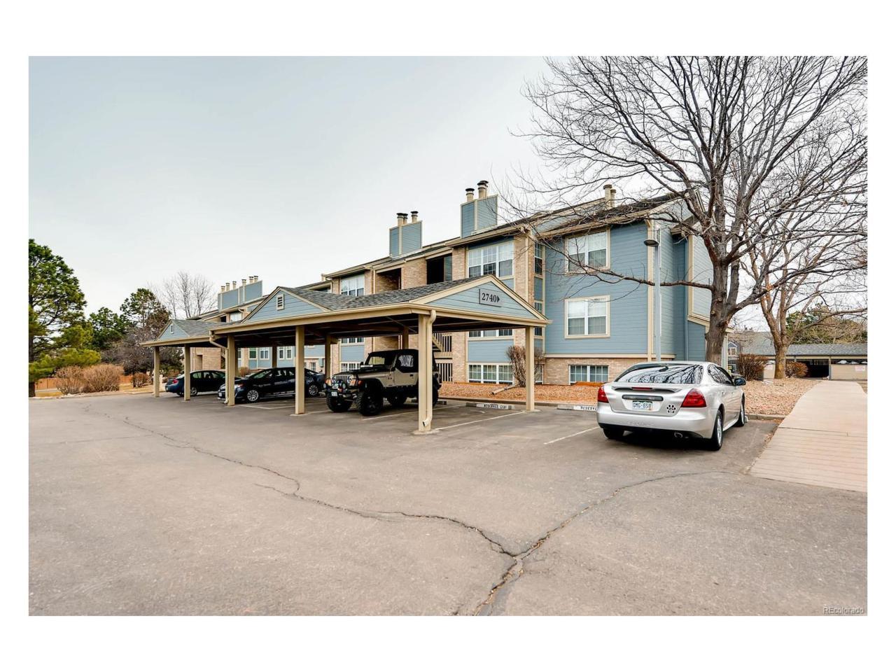 2740 E Otero Place #3, Centennial, CO 80122 (#3839430) :: The Peak Properties Group