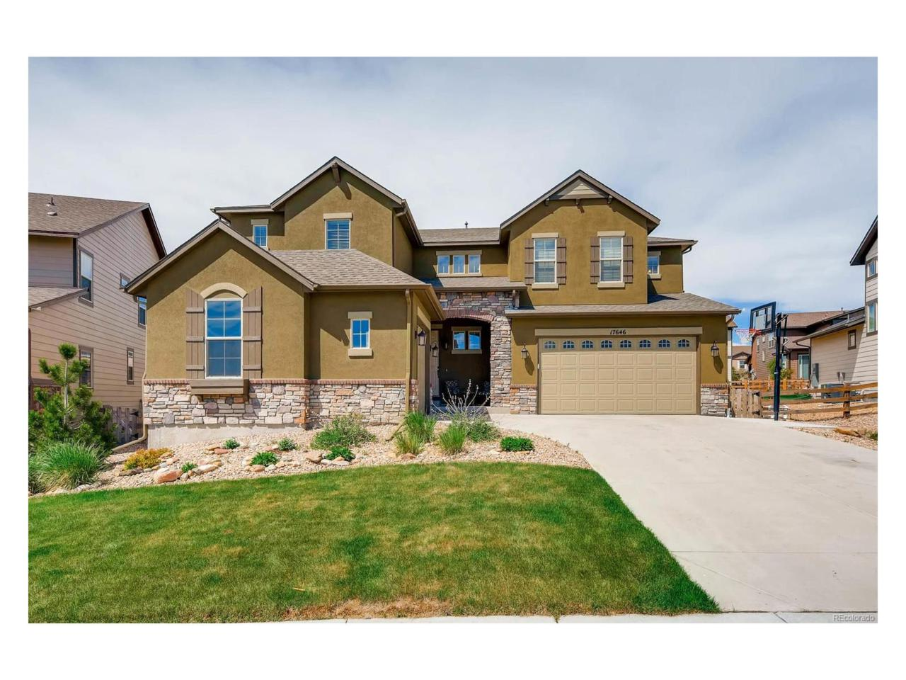 17646 W 83rd Drive, Arvada, CO 80007 (MLS #4041352) :: 8z Real Estate