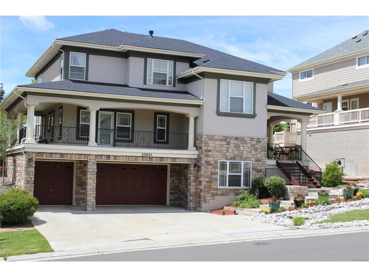 22831 E Euclid Circle, Aurora, CO 80016 (MLS #4050630) :: 8z Real Estate