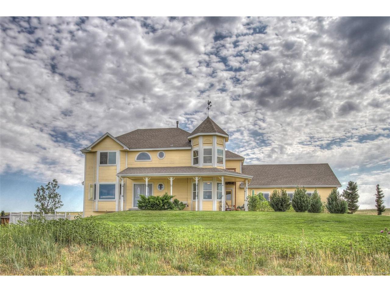 41230 Valley View Court, Elizabeth, CO 80107 (MLS #4115632) :: 8z Real Estate