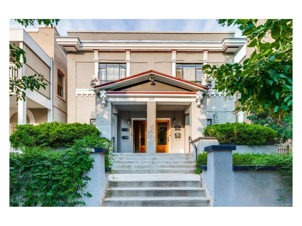 1214 Pearl Street #4, Denver, CO 80203 (MLS #4121760) :: 8z Real Estate