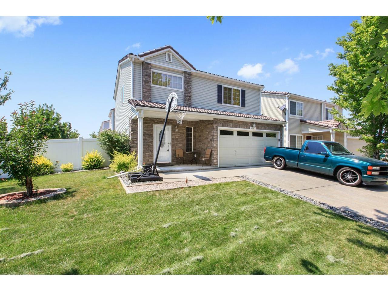 4367 Andes Way, Denver, CO 80249 (MLS #4125386) :: 8z Real Estate
