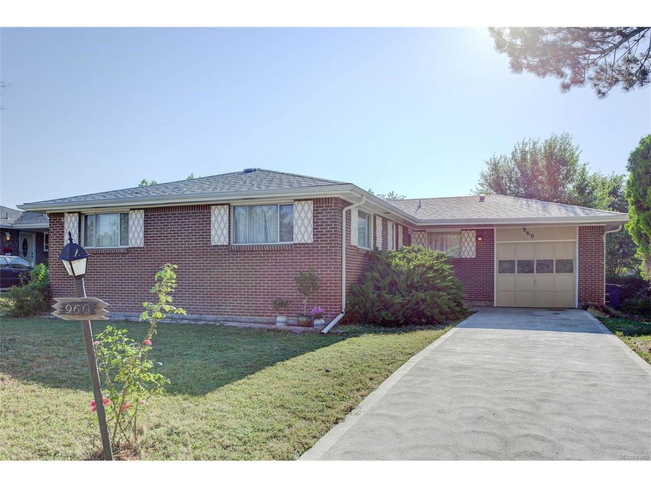 960 Nickel Street, Broomfield, CO 80020 (MLS #4265682) :: 8z Real Estate