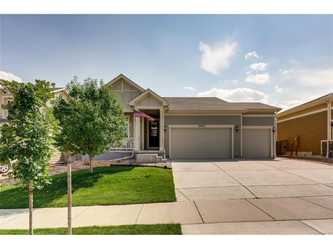 17034 White Alba Lane, Parker, CO 80134 (MLS #4280093) :: 8z Real Estate